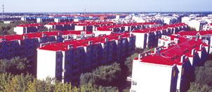 黑龙江大庆石油管理局广厦新城小区15万米电采暖